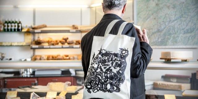 Taschenprojekt<br />Appenzeller® Käse «Ausschnitte»