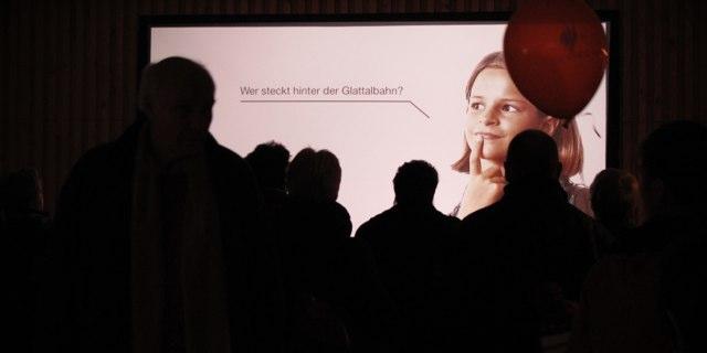 Ausstellungspräsentation<br />VBG Glattalbahn
