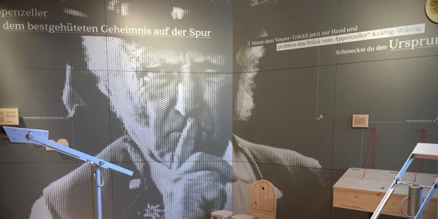 Dauerausstellung<br />Appenzeller Schaukäserei